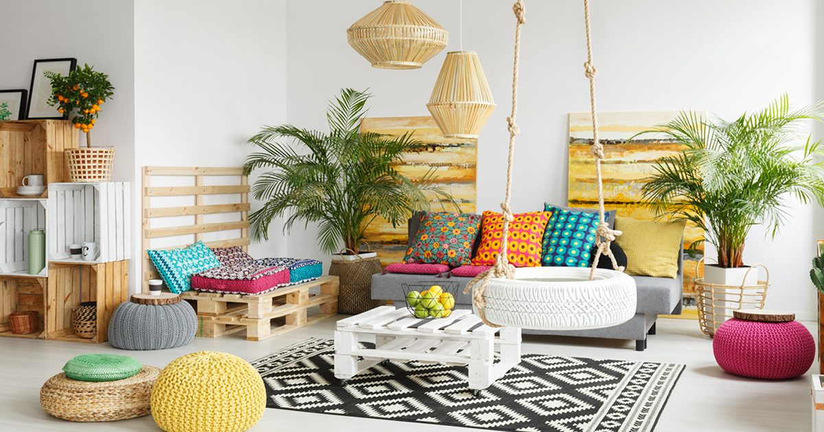 Get inspired by pink, yellow and orange