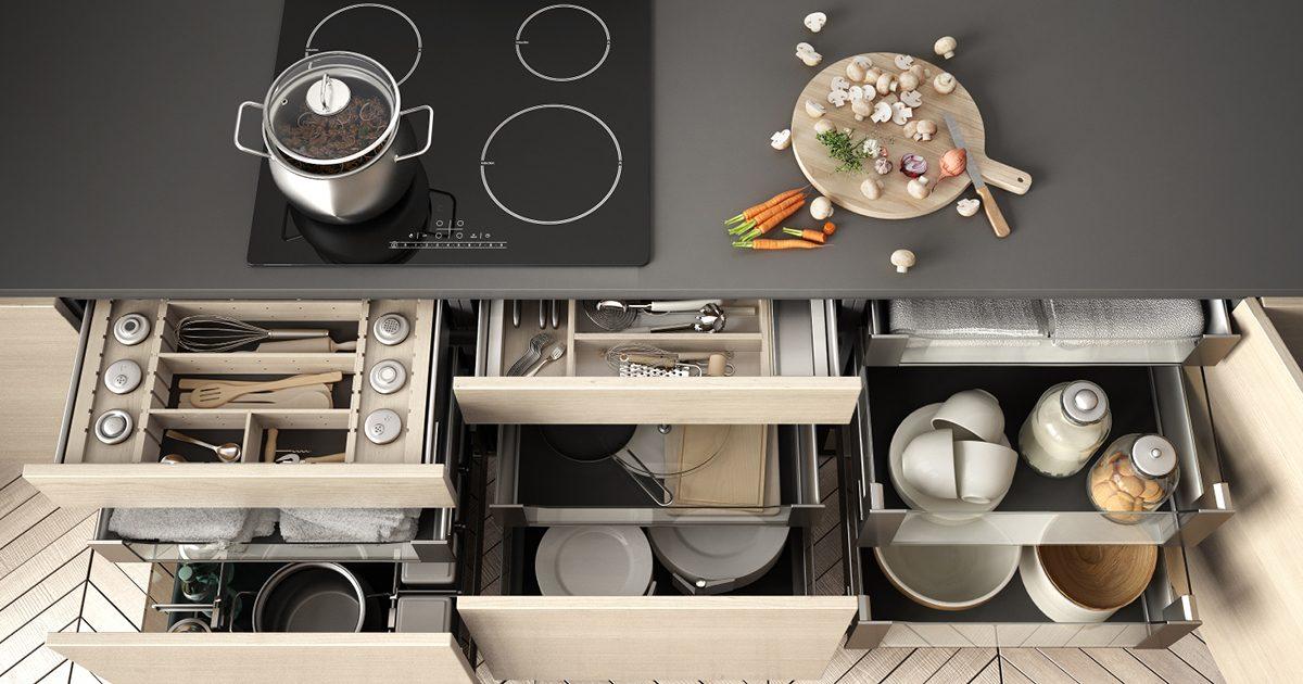 Strategies for maximizing kitchen storage